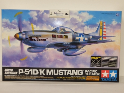 P- 51 D/ K Mustang Pacific Theater